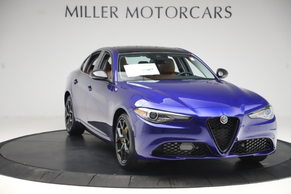 New 2020 Alfa Romeo Giulia Ti Q4 for sale $51,145 at Alfa Romeo of Westport in Westport CT 06880 11