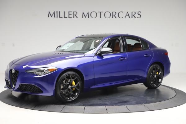 New 2020 Alfa Romeo Giulia Ti Q4 for sale $51,145 at Alfa Romeo of Westport in Westport CT 06880 2