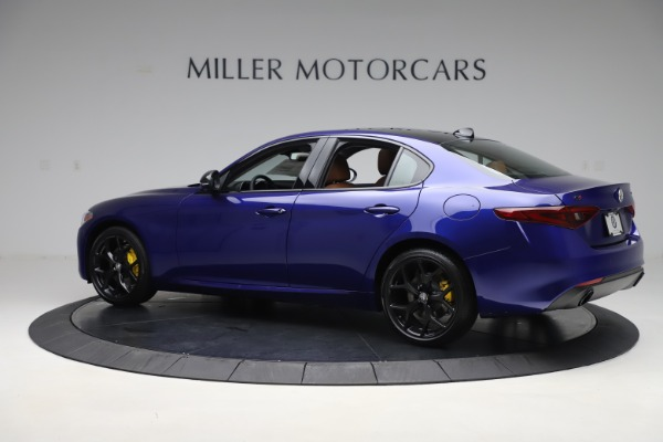 New 2020 Alfa Romeo Giulia Ti Q4 for sale $51,145 at Alfa Romeo of Westport in Westport CT 06880 4