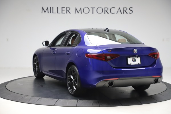 New 2020 Alfa Romeo Giulia Ti Q4 for sale $51,145 at Alfa Romeo of Westport in Westport CT 06880 5
