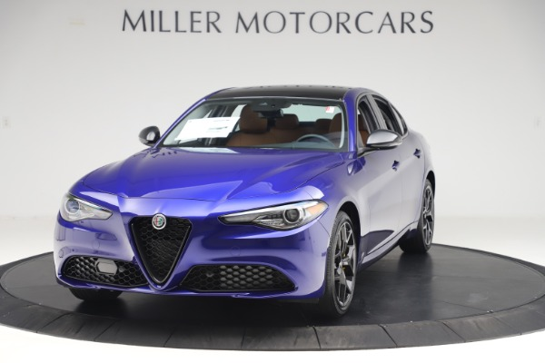 New 2020 Alfa Romeo Giulia Ti Q4 for sale $51,145 at Alfa Romeo of Westport in Westport CT 06880 1