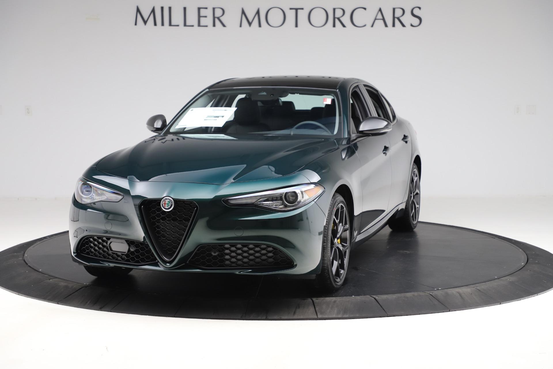 New 2020 Alfa Romeo Giulia Ti Q4 for sale $48,545 at Alfa Romeo of Westport in Westport CT 06880 1