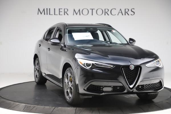 New 2020 Alfa Romeo Stelvio Sport Q4 for sale $49,695 at Alfa Romeo of Westport in Westport CT 06880 11