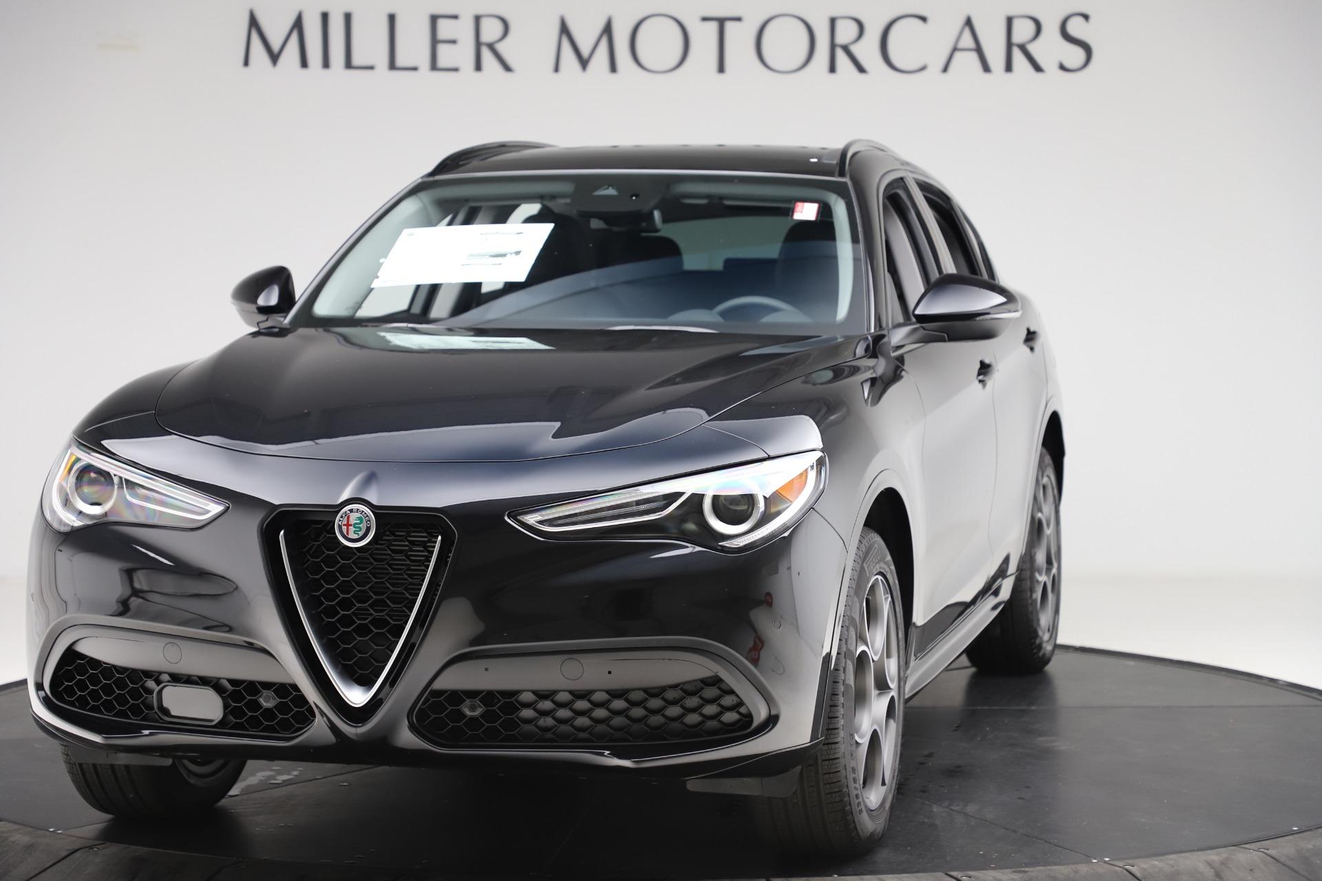 New 2020 Alfa Romeo Stelvio Sport Q4 for sale $49,695 at Alfa Romeo of Westport in Westport CT 06880 1