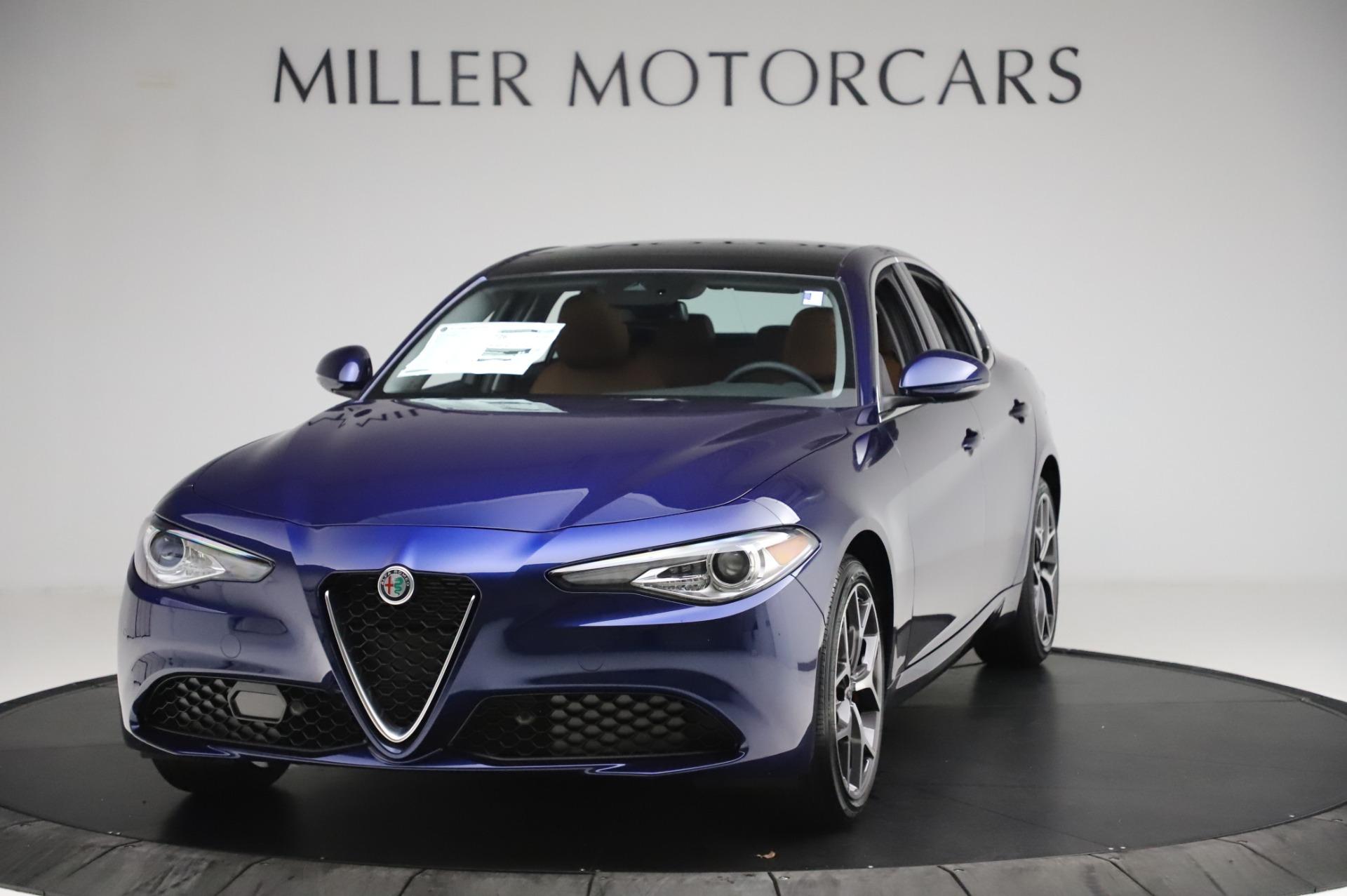New 2020 Alfa Romeo Giulia Ti Q4 for sale $51,145 at Alfa Romeo of Westport in Westport CT 06880 1
