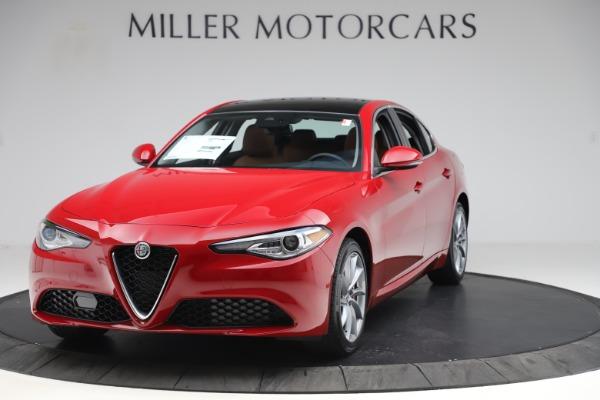 New 2020 Alfa Romeo Giulia Q4 for sale $46,395 at Alfa Romeo of Westport in Westport CT 06880 1