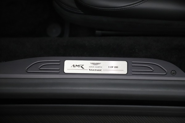 New 2020 Aston Martin Vantage AMR Coupe for sale $210,141 at Alfa Romeo of Westport in Westport CT 06880 17