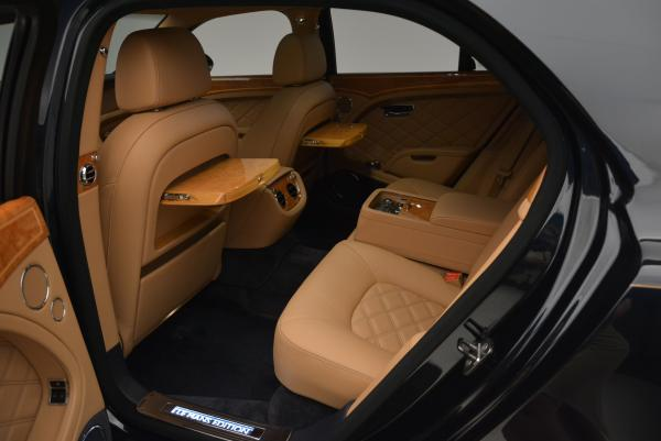Used 2013 Bentley Mulsanne Le Mans Edition- Number 1 of 48 for sale Sold at Alfa Romeo of Westport in Westport CT 06880 25