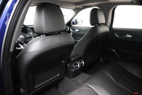 New 2020 Alfa Romeo Giulia Ti Q4 for sale $37,900 at Alfa Romeo of Westport in Westport CT 06880 20