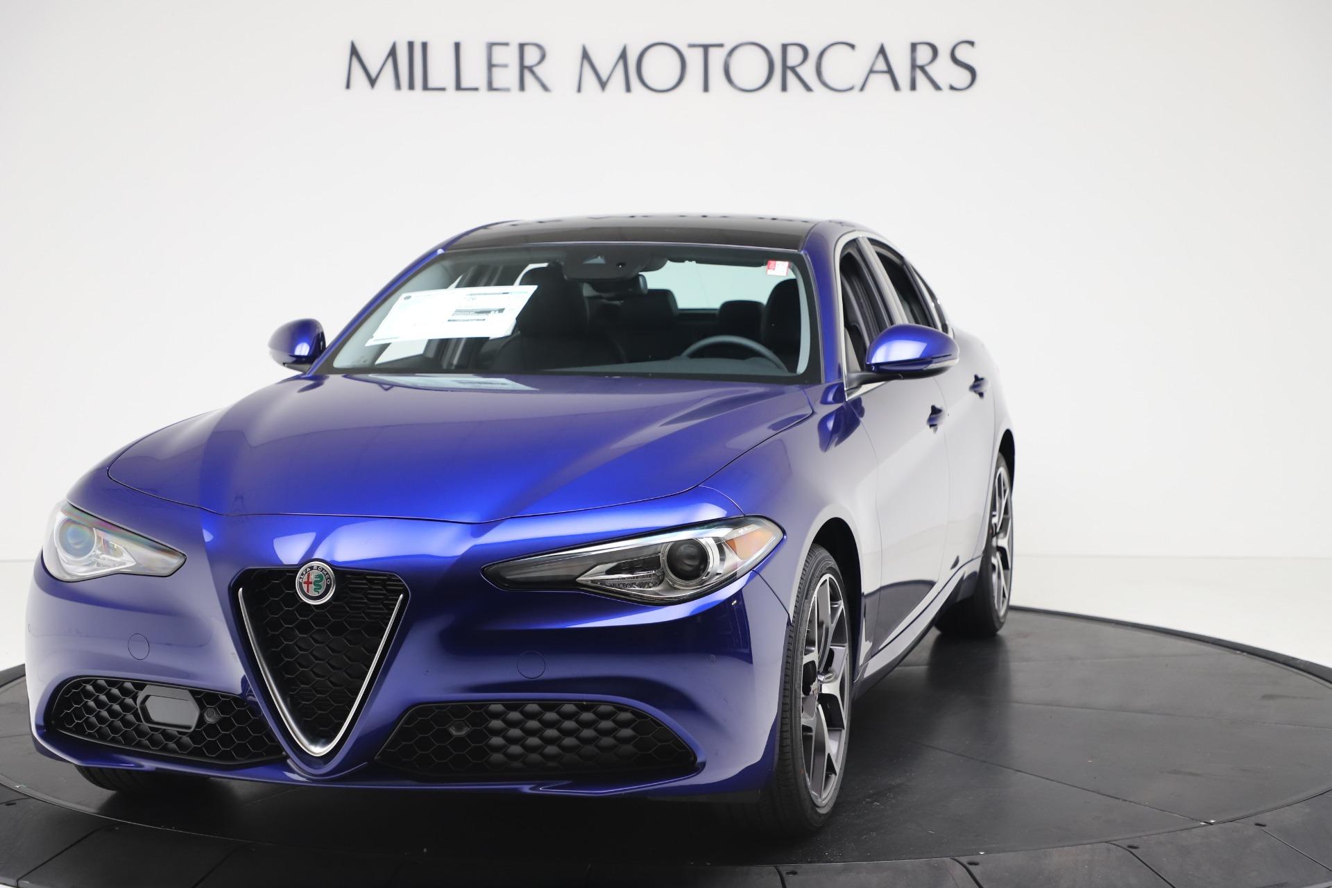New 2020 Alfa Romeo Giulia Ti Q4 for sale $37,900 at Alfa Romeo of Westport in Westport CT 06880 1
