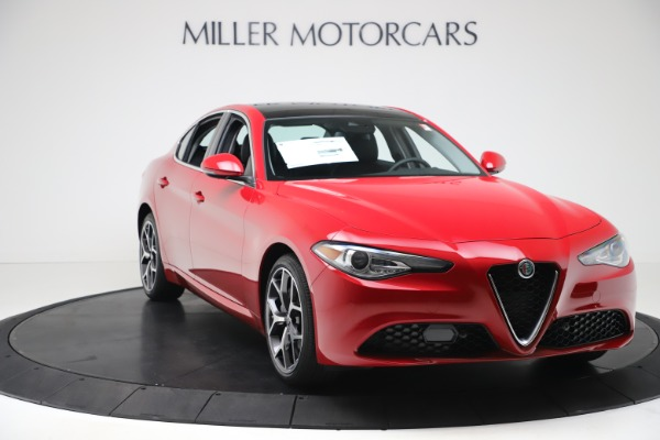 New 2020 Alfa Romeo Giulia Ti Q4 for sale $47,745 at Alfa Romeo of Westport in Westport CT 06880 10