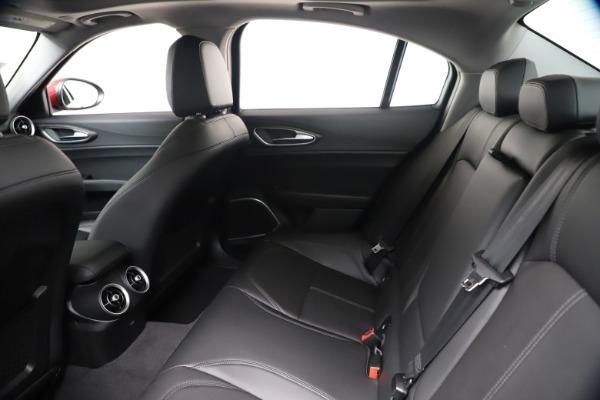New 2020 Alfa Romeo Giulia Ti Q4 for sale $42,745 at Alfa Romeo of Westport in Westport CT 06880 18
