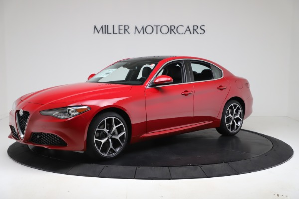 New 2020 Alfa Romeo Giulia Ti Q4 for sale $47,745 at Alfa Romeo of Westport in Westport CT 06880 2