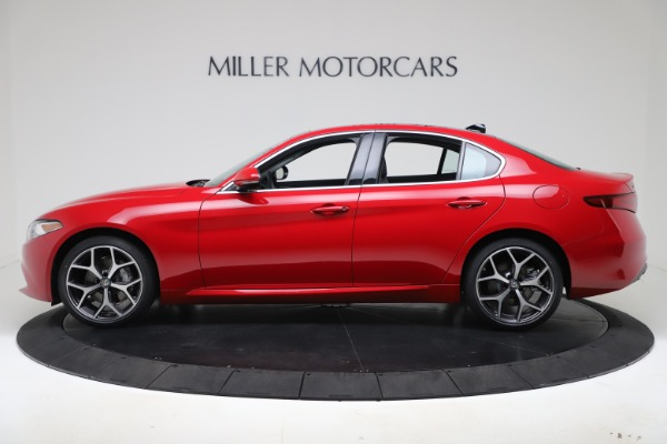 New 2020 Alfa Romeo Giulia Ti Q4 for sale $47,745 at Alfa Romeo of Westport in Westport CT 06880 3