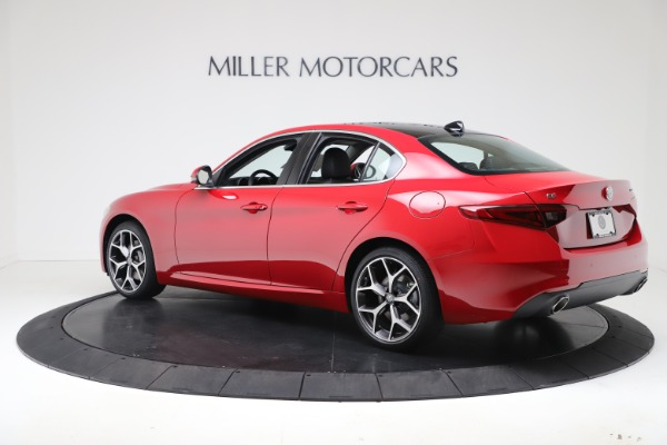 New 2020 Alfa Romeo Giulia Ti Q4 for sale $47,745 at Alfa Romeo of Westport in Westport CT 06880 4