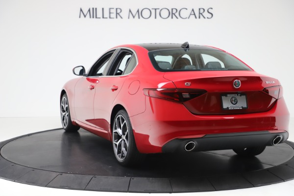 New 2020 Alfa Romeo Giulia Ti Q4 for sale $47,745 at Alfa Romeo of Westport in Westport CT 06880 5