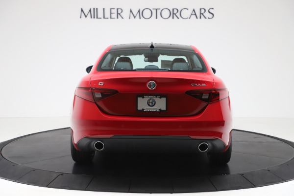New 2020 Alfa Romeo Giulia Ti Q4 for sale $47,745 at Alfa Romeo of Westport in Westport CT 06880 6
