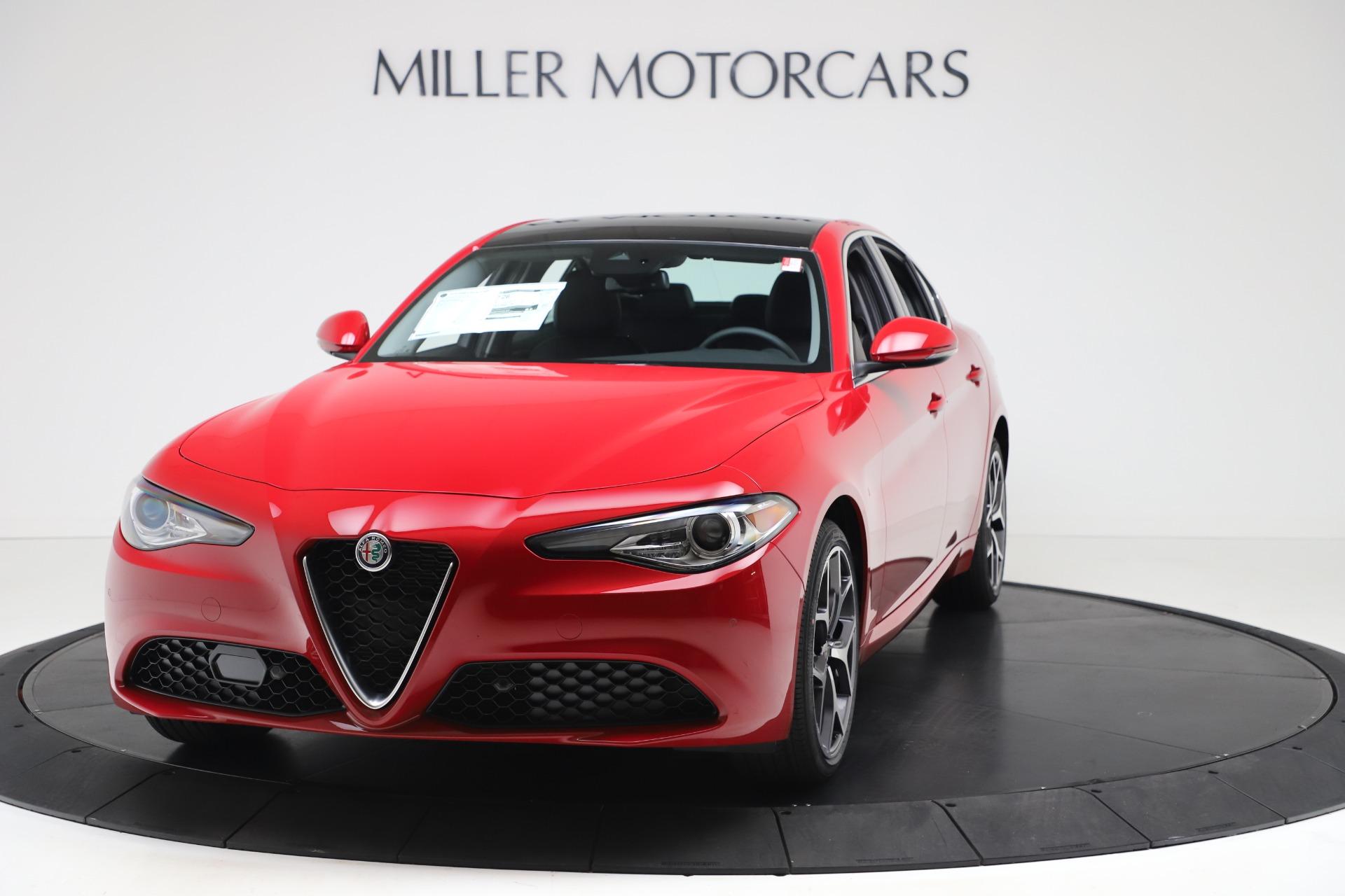 New 2020 Alfa Romeo Giulia Ti Q4 for sale $42,745 at Alfa Romeo of Westport in Westport CT 06880 1