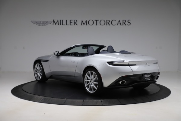 New 2020 Aston Martin DB11 Volante Convertible for sale $253,181 at Alfa Romeo of Westport in Westport CT 06880 6