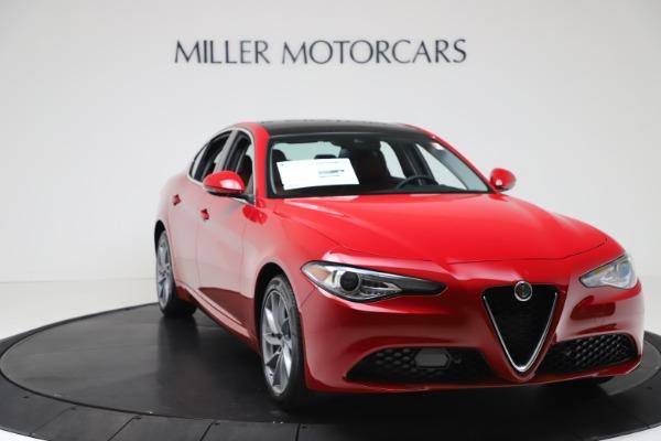New 2020 Alfa Romeo Giulia Q4 for sale $46,395 at Alfa Romeo of Westport in Westport CT 06880 11