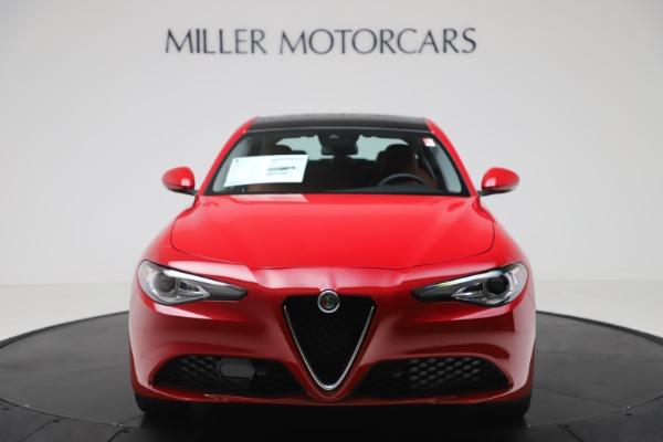 New 2020 Alfa Romeo Giulia Q4 for sale $46,395 at Alfa Romeo of Westport in Westport CT 06880 12