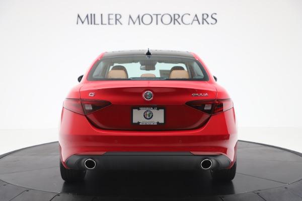 New 2020 Alfa Romeo Giulia Q4 for sale $46,395 at Alfa Romeo of Westport in Westport CT 06880 6