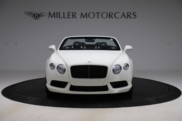 Used 2014 Bentley Continental GTC V8 for sale $109,900 at Alfa Romeo of Westport in Westport CT 06880 12