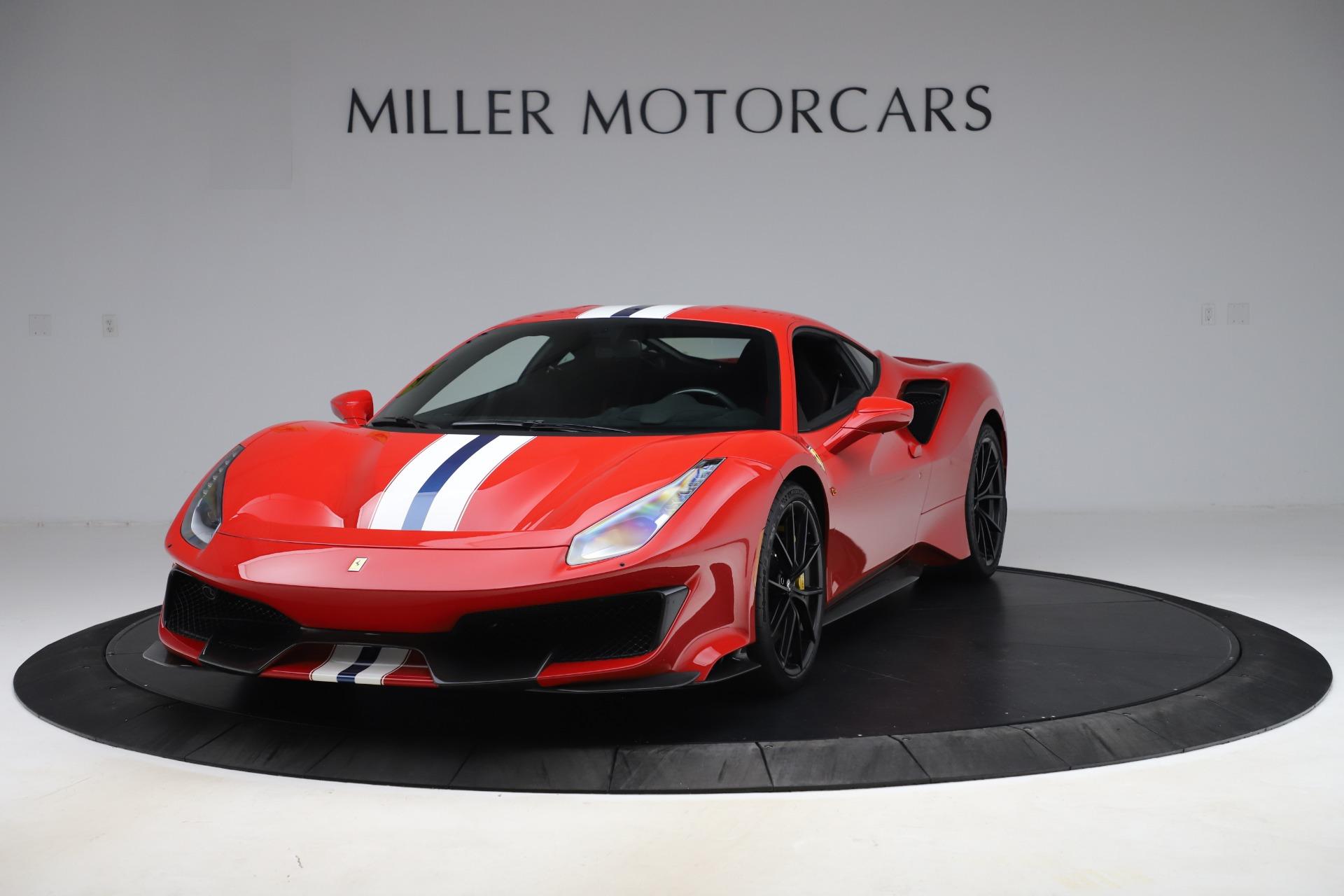 Used 2019 Ferrari 488 Pista for sale $451,900 at Alfa Romeo of Westport in Westport CT 06880 1