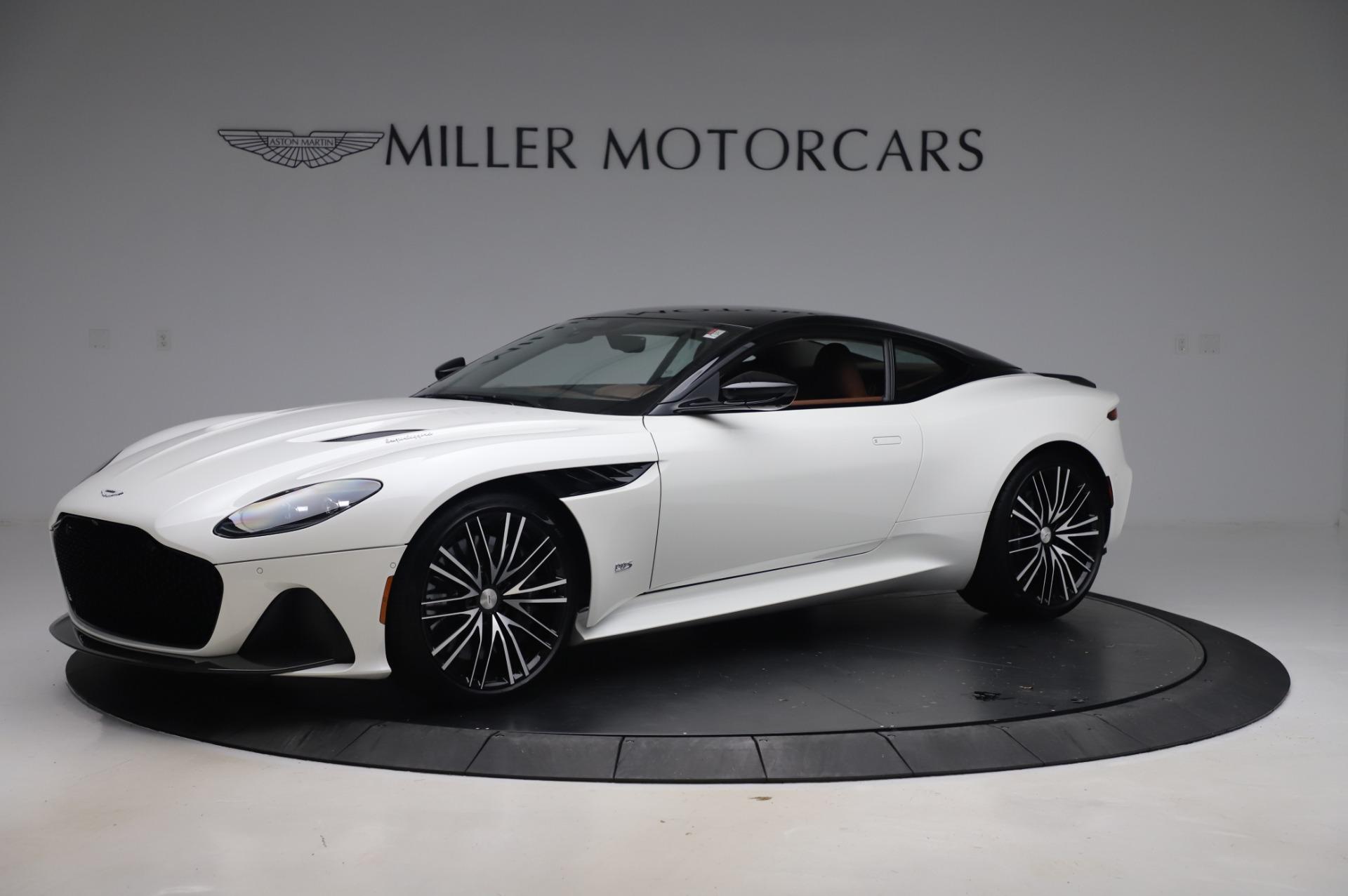 New 2020 Aston Martin DBS Superleggera Coupe for sale $337,686 at Alfa Romeo of Westport in Westport CT 06880 1