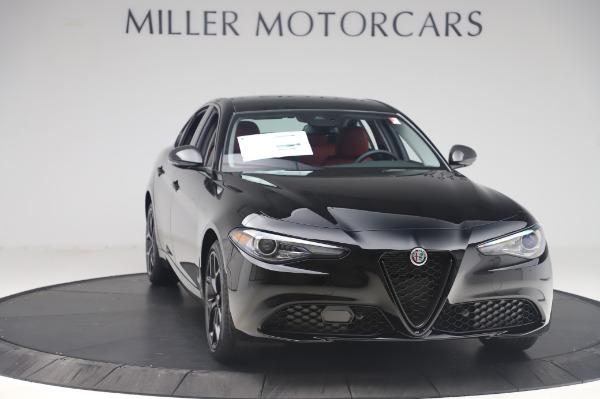 New 2020 Alfa Romeo Giulia Q4 for sale $48,445 at Alfa Romeo of Westport in Westport CT 06880 11