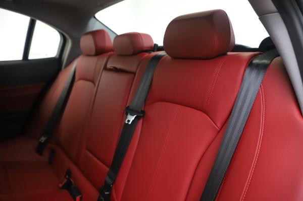 New 2020 Alfa Romeo Giulia Q4 for sale $48,445 at Alfa Romeo of Westport in Westport CT 06880 18