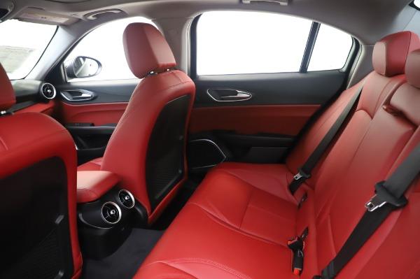 New 2020 Alfa Romeo Giulia Q4 for sale $48,445 at Alfa Romeo of Westport in Westport CT 06880 19