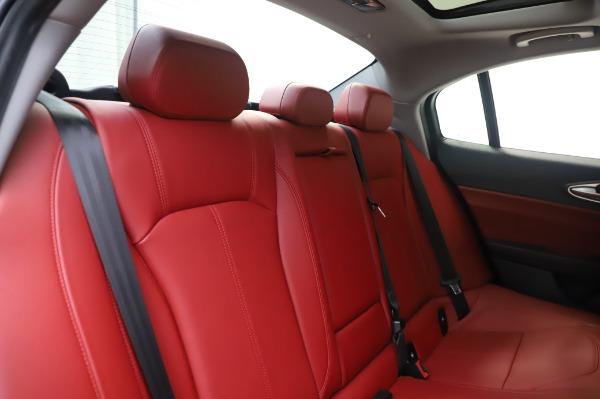 New 2020 Alfa Romeo Giulia Q4 for sale $48,445 at Alfa Romeo of Westport in Westport CT 06880 26