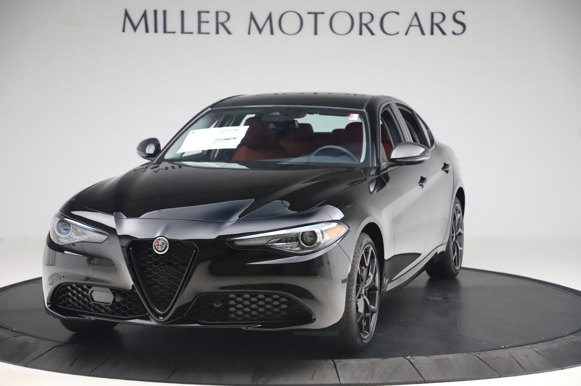 New 2020 Alfa Romeo Giulia Q4 for sale $48,445 at Alfa Romeo of Westport in Westport CT 06880 1
