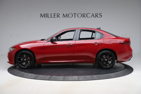 New 2020 Alfa Romeo Giulia Sport Q4 for sale $48,645 at Alfa Romeo of Westport in Westport CT 06880 3