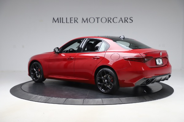New 2020 Alfa Romeo Giulia Sport Q4 for sale $48,645 at Alfa Romeo of Westport in Westport CT 06880 4
