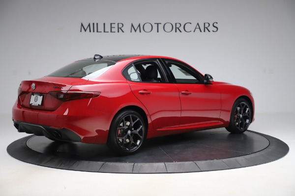 New 2020 Alfa Romeo Giulia Sport Q4 for sale $48,645 at Alfa Romeo of Westport in Westport CT 06880 8
