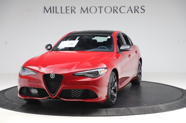 New 2020 Alfa Romeo Giulia Sport Q4 for sale $48,645 at Alfa Romeo of Westport in Westport CT 06880 1