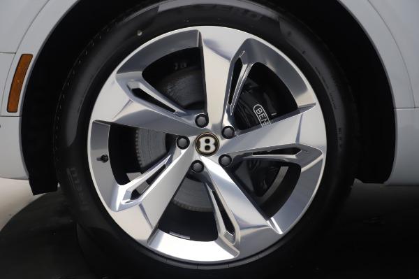 New 2020 Bentley Bentayga Hybrid for sale $220,475 at Alfa Romeo of Westport in Westport CT 06880 15