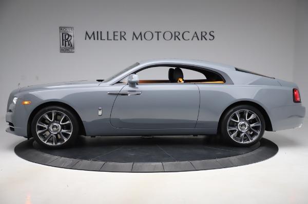 New 2020 Rolls-Royce Wraith for sale $405,625 at Alfa Romeo of Westport in Westport CT 06880 3