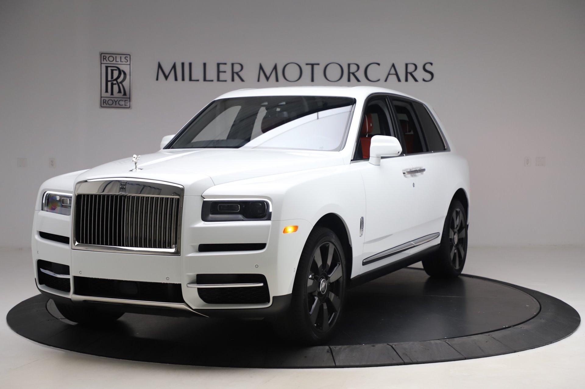 New 2020 Rolls-Royce Cullinan for sale $393,475 at Alfa Romeo of Westport in Westport CT 06880 1