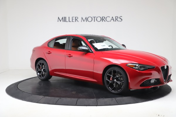 New 2020 Alfa Romeo Giulia Q4 for sale $47,245 at Alfa Romeo of Westport in Westport CT 06880 10