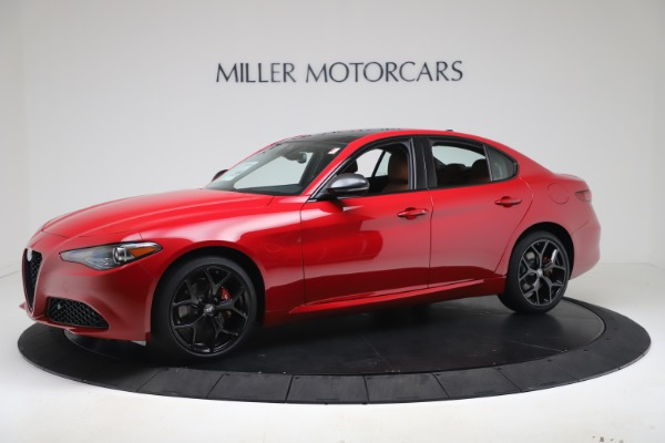 New 2020 Alfa Romeo Giulia Q4 for sale $47,245 at Alfa Romeo of Westport in Westport CT 06880 2