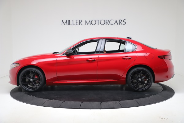 New 2020 Alfa Romeo Giulia Q4 for sale $47,245 at Alfa Romeo of Westport in Westport CT 06880 3