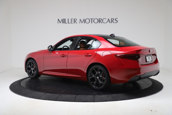 New 2020 Alfa Romeo Giulia Q4 for sale $47,245 at Alfa Romeo of Westport in Westport CT 06880 4