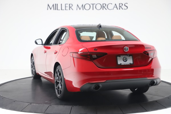New 2020 Alfa Romeo Giulia Q4 for sale $47,245 at Alfa Romeo of Westport in Westport CT 06880 5
