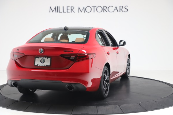 New 2020 Alfa Romeo Giulia Q4 for sale $47,245 at Alfa Romeo of Westport in Westport CT 06880 7