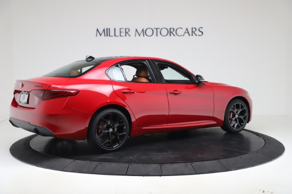 New 2020 Alfa Romeo Giulia Q4 for sale $47,245 at Alfa Romeo of Westport in Westport CT 06880 8