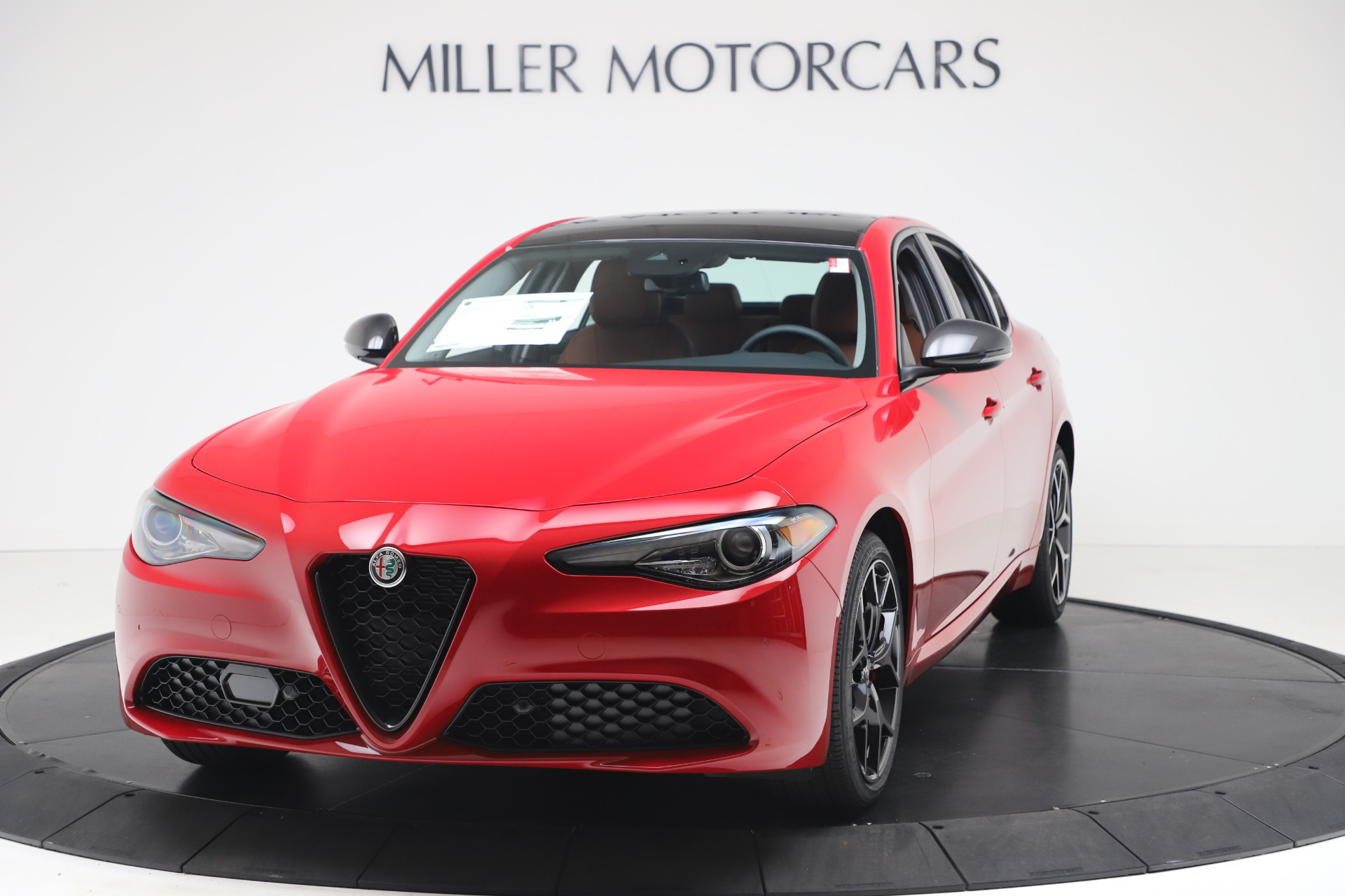 New 2020 Alfa Romeo Giulia Q4 for sale $47,245 at Alfa Romeo of Westport in Westport CT 06880 1