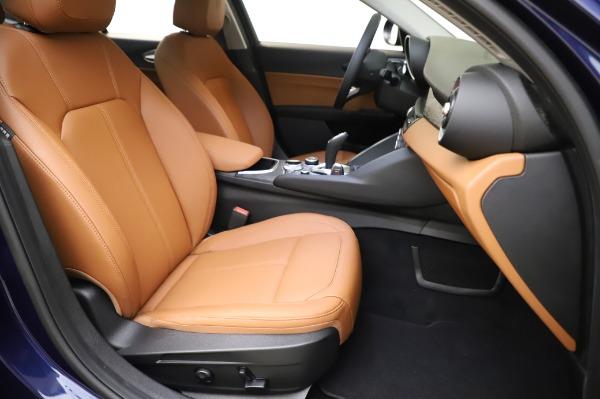 New 2020 Alfa Romeo Giulia Q4 for sale $42,845 at Alfa Romeo of Westport in Westport CT 06880 23